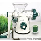 NEW Lexen Manual Wheatgrass Healthy Juicer