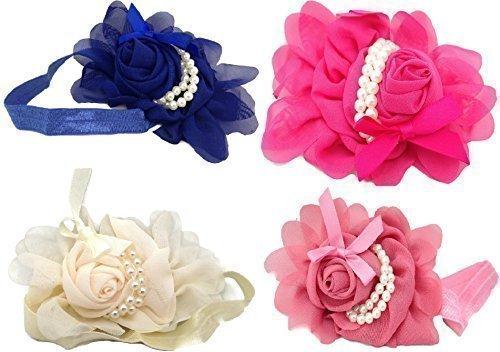 royal-blue-dark-pink-tango-pink-ivory-pack-of-4-baby-girl-children-headband-hair-band