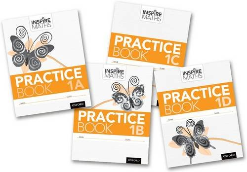 Inspire Maths: Practice Book 1 ABCD (Mixed Pack)