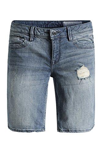 edc by ESPRIT - denim Short 045CC1C015, Pantaloni da donna blu(Blau (C BLUE VISUAL 966))