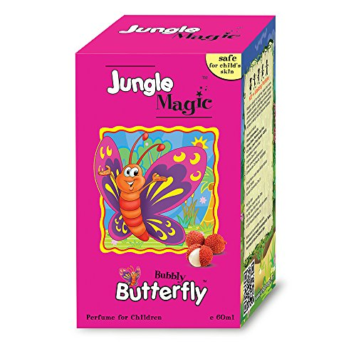 Jungle Magic Bubbly Butterfly Baby Grooming Fruity Perfume, 60ml