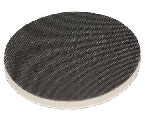 Softauflage Ø 75mm Interface-Pad für Schleifteller Polierteller Stützteller für Klett-Schleifscheiben - DFS