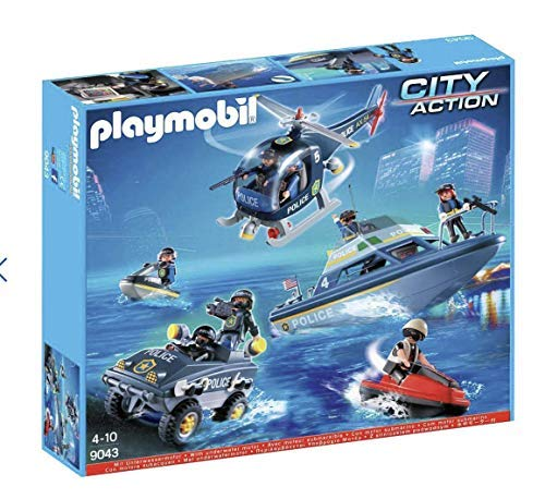 Playmobil Set de Police – 9043