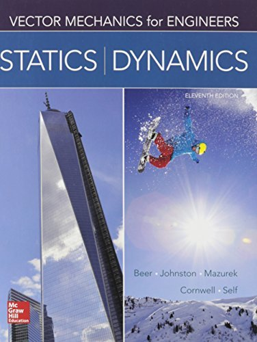 Package: Vector Mechanics for Engineers: Statics and Dynamics with 2 Semester Connect Access Card by Ferdinand Beer (2014-10-27)