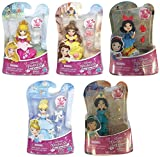 Disney Princess Little Kingdom Snap-in Dolls - Set of 5
