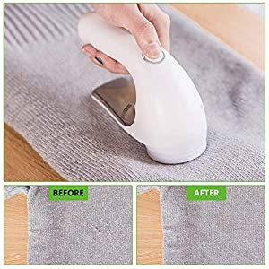 Lzonunl Bobble Remover, USB Rechargeable Fluff Remover, Lint Shaver Portable Fabric Shaver Quickly Remove Piling, Jumpers for Clothes