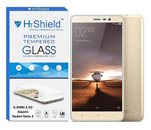 HTShield HTPGXRN3 [2.5D Round Edge] Premium Tempered Glass For Xiaomi Redmi Note 3 (5.5' Inch Display)