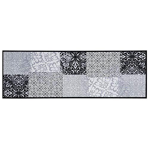Teppich Boss - Alfombra de Cocina 50 x 150 cm, Lavable, Antideslizante, diseño de Patchwork, Color...
