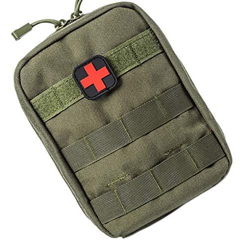 Vkospy Tactical First Aid Kit Fanny Hüfttasche Notfall Reiseüberlebens-Rettungshandtasche wasserdichte Camping Wandern Pouch Case