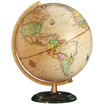 diam/ètre 30 cm Columbus Renaissance globe illumin/é 603014 F