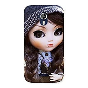 Cute Sweet Angel Doll Back Case Cover for Micromax Canvas Magnus A117