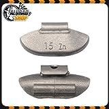 15g Schlaggewichte Auswuchtgewichte Wuchtgewichte für Stahlfelgen 100 Stück
