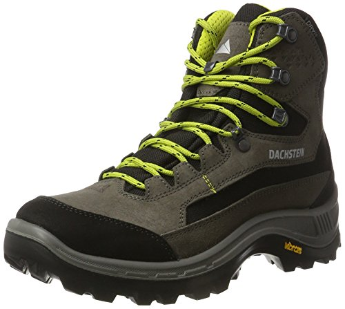 Dachstein Rax Mc Dds, Chaussures de Randonnée Hautes Homme, Dark Brown/Fire, Taille Unique Gris (Graphite/sulphur)