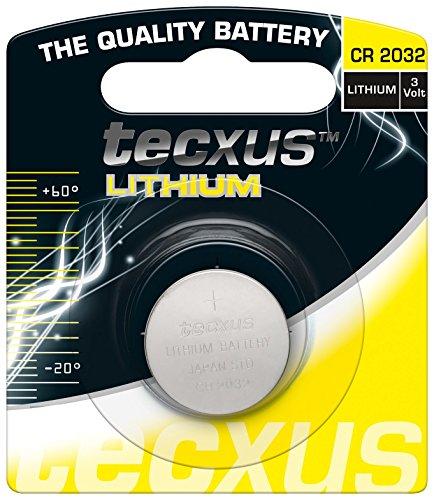 Bat TECXUS Lithium Knopfzelle CR 2032 210mAh 10P