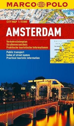 MARCO POLO Cityplan Amsterdam 1:15 000 (MARCO POLO Citypläne)