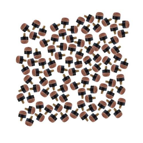 Supreme Standard-Spitzen für Billard-Queue, schraubbar, 10mm, 100Stück
