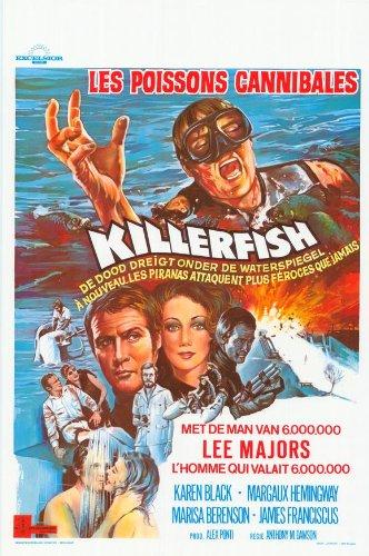 Killer Fish Plakat Movie Poster (27 x 40 Inches - 69cm x 102cm) (1979) Belgian
