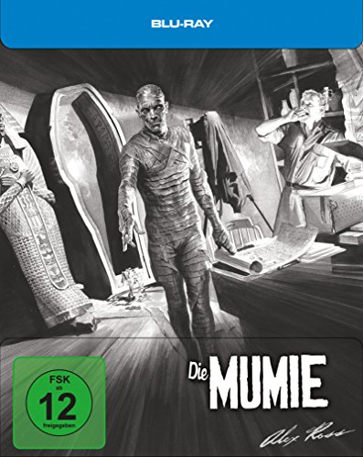 Die Mumie Limited - Steelbook designed by Alex Ross [Blu-ray] [Limited Edition]