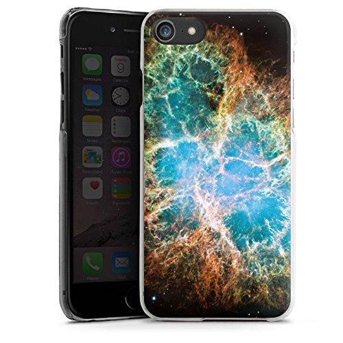 Apple iPhone X Silikon Hülle Case Schutzhülle Galaxy Muster Universum Hard Case transparent