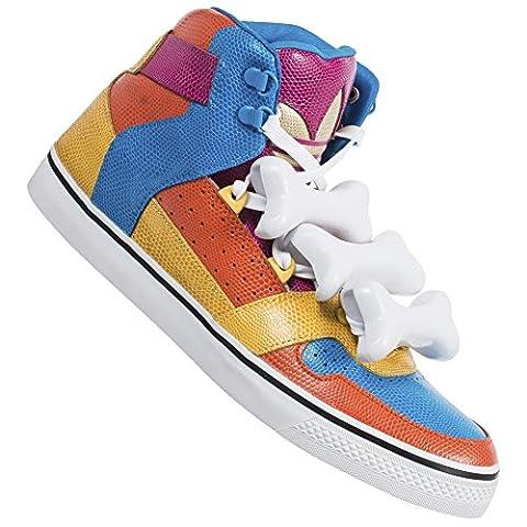 JL1 adidas Jeremy Scott JS Bones Multicolor Herren Sneakers D65207 Gr. 44 2/3
