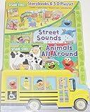 Sesame Street Storybooks & 3-D Playset