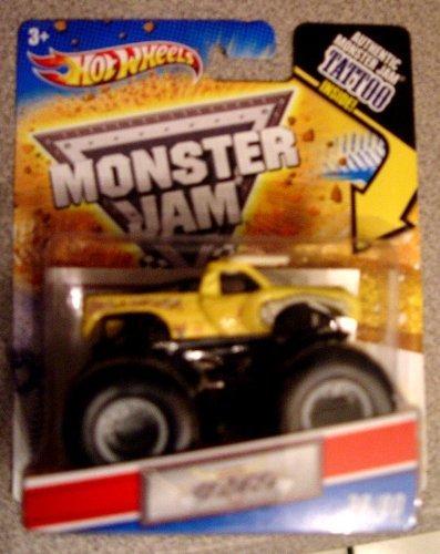 2010Hot Wheels Monster Jam Tattoo Sammelfiguren-Serie Mechanische Mischief First Edition Maßstab 1: 64LKW # 22/80von Hot Wheels (Hot Wheels Tattoos)