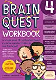 """Brain Quest Workbook: Grade 4 [With Over 150 Stickers and Mini-Card Deck and Fold-Out """"7 Continents, 1 World"""" Poster]"""