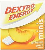 Dextro Energy Minis Pfirsich / Mini Traubenzucker-Täfelchen mit schnell verfügbarer Glucose für unterwegs / 6 Packungen (6 x 50g)