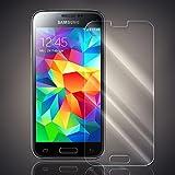 Numerva Samsung Galaxy S5 Mini Panzerglas, Schutzfolie Folie [Panzerfolie aus echtem Glas 9H Härtegrad] Panzerglasfolie für Samsung Galaxy S5 Mini Displayfolie