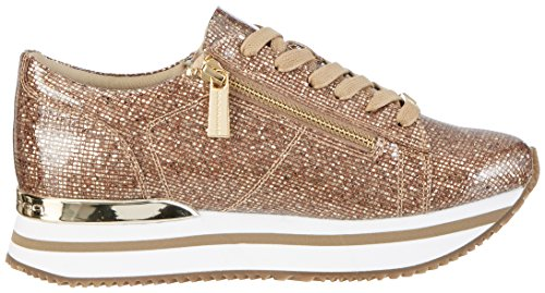 Fornarina Tina, Sneaker Basse Donna Oro (gold)