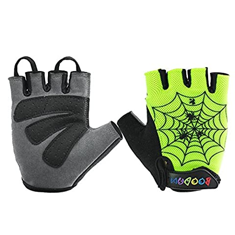 BOODUN Children bicycle Cycling Gloves with Wrist Support for Children