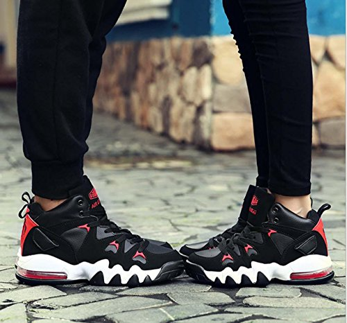 NobS Lento Shock Scarpa Da Tennis Dei Pattini Correnti Di Sport Antiscivolo Da Jogging Scarpe Men 'S Outdoor Black