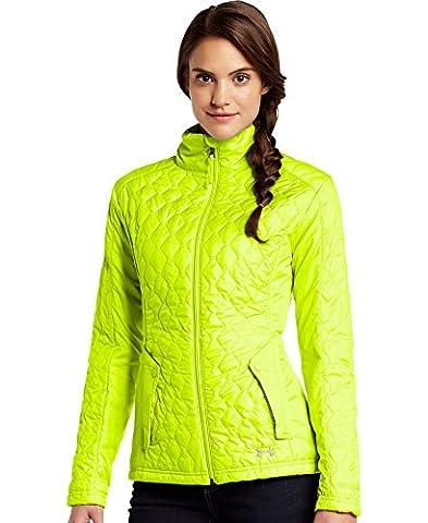 Under Armour Women's ColdGear Infrared Alpinlite Jacket Small High-Vis Yellow