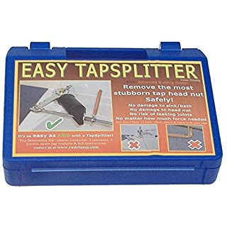 Easy Tapsplitter TK-BAC-001 Tool kit for Releasing Head Nuts on Dripping or Stuck Pillar and bib taps