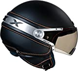 NEXX X60ICE Helm in schwarz weich
