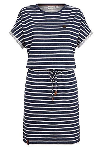 Naketano Female Dress Blaues Licht Stripe Hype, S (Licht Kleid)