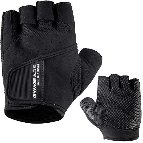 GYMGEARS® Trainingshandschuhe für Damen und Herren - Fitness Handschuhe für Krafttraining, Bodybuilding, Kraftsport & Crossfit Training - Gym Workout Gloves Unisex