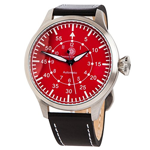 Constantin Durmont Men's Watch Raider Analog Automatic Leather CD RAID at LT Stst RD