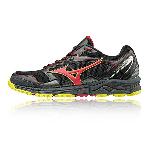 Mizuno Wave Daichi 3, Chaussures de Running Homme Multicolore (Blackformulaoneflash)