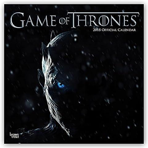 Game of Thrones 2018 - 18-Monatskalender: Original BrownTrout-Kalender. Broschurkalender