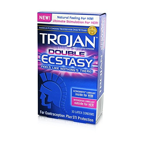double-ecstasy-lubricated-condoms-10-count-by-trojan