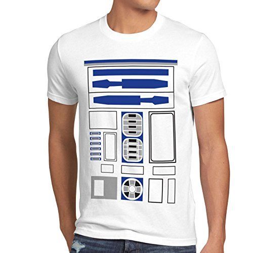 style3 R2 Einheit Herren T-Shirt Astromech droide, Größe:XXXL