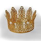 Couronne avec perles en or