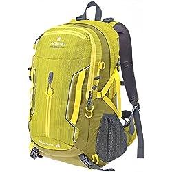 Multifunktionsrucksack Campus Daypack Rucksack City Rucksack/Schule Arbeit & Freizeit/Bag A/4 Outdoor Schulrucksack (Yellow)