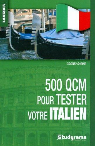 500 QCM pour tester votre italien