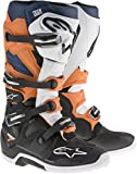 Alpinestars Black Orange White Blue 2017 Tech 7 MX Boot