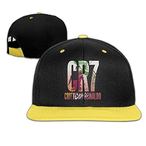PGiG Kid's Cristiano Ronaldo Portugal 2016 Adjustable Snapback Hip Hop Baseball Hats...