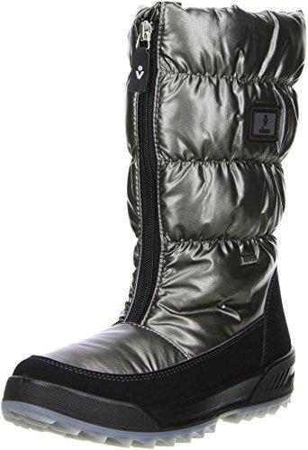 Vista Damen Winterstiefel Snowboots anthrazit/silber/metallic Anthrazit