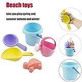 LCLrute TPE Sand Sandbeach Kinder Strand Castle Eimer Spaten Schaufel Rechen Wasserspielzeug Spielzeug