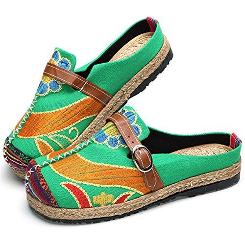 Gracosy Alpargatas Zapatos Mujer Caminando Zapatillas